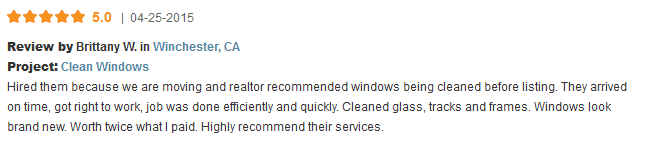 window cleaning in winchester ca