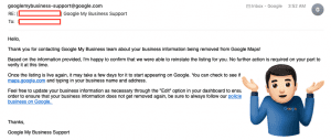 Google doesn't care about small businesses