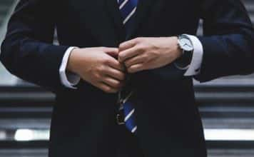 lawyer in suit