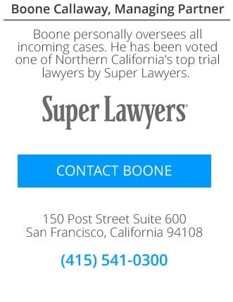 San Francisco injury and malpractice attorney contact.